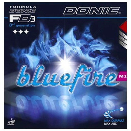 Borracha Donic Bluefire M1 - Top Ténis de Mesa