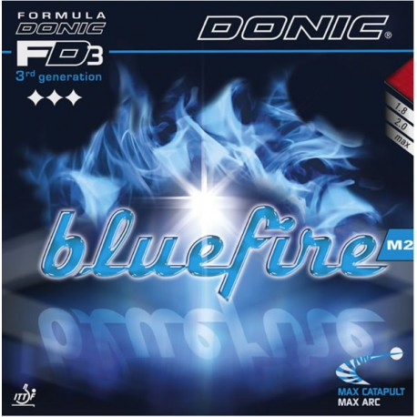 Borracha Donic Bluefire M2 - Top Ténis de Mesa