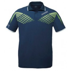 Polo Donic Shirt Hyper Navy - Top Ténis de Mesa