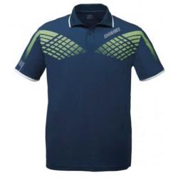 Polo Donic Shirt Hyper Navy - Top Ténis de Mesa