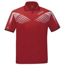 Donic Polo Shirt Hyper Red - Top Ténis de Mesa