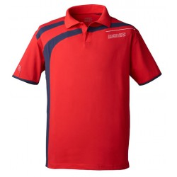 Donic Polo Shirt Cooper Red - Top Ténis de Mesa