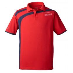 Donic Polo Shirt Cooper Red - Top Ténis de Mesa