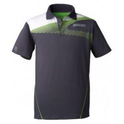 Donic Polo Shirt OrbitFlex Antracite - Top Ténis de Mesa