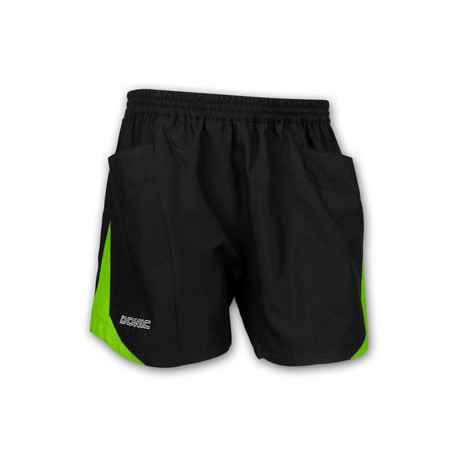 Calção Donic Short Strike Black Green - Top Ténis de Mesa
