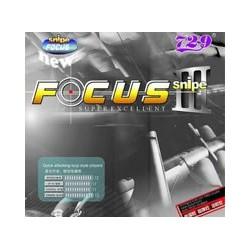 Borracha 729 Focus 3 Snipe - Top Ténis de Mesa
