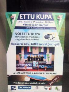 Budaörsi 2iSC - GDCS Juncal