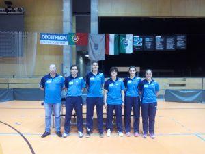 Equipa do GDCS Juncal presente na Hungria