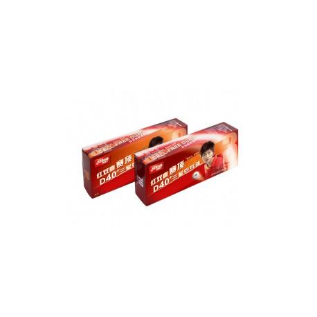 Bolas de Plástico DHS D40+ 3*** ITTF seam 10 unidades