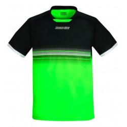 Donic T-shirt Traxion black/limegreen